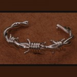 "Ultra ""Light"" Barbed Wire Bracelet"