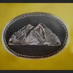 Mt Sopris Belt Buckle