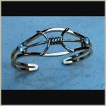 Barbed Wire Bracelet ~ featured in COWBOYS & INDIANS  and BIG LIFE magazine